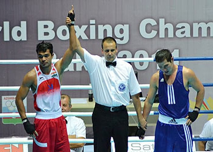 AIBA World Boxing Championships 2015: Thapa and Yadav rampage into the quarterfinals