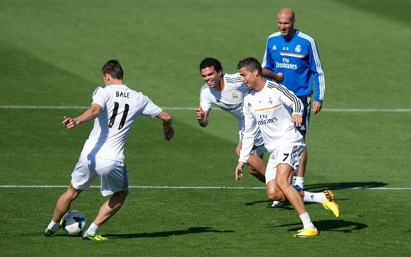 Zinedine Zidane believes competition with Lionel Messi motivates Cristiano Ronaldo