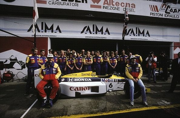 Nigel Mansell Nelson Piquet Williams