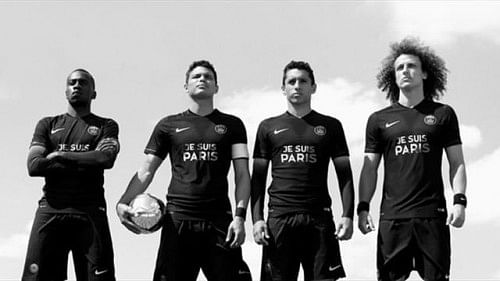 PSG to wear Je Suis Paris shirts in honour of Paris attack victims