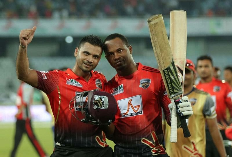 BPL Day 3 Round-up: Samuels and Mortaza combine to defeat the Vikings; Al-Amin's hat-trick ensures Bulls' victory