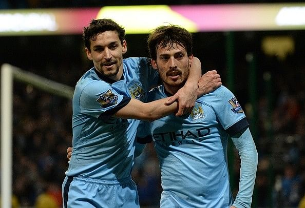 Jesus Navas names David Silva the third best player after Lionel Messi and Cristiano Ronaldo