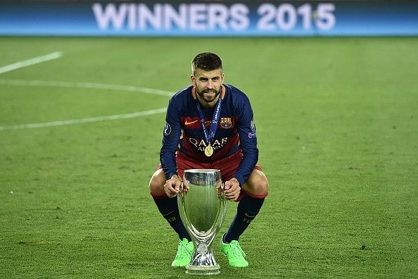 Gerard Pique says Barcelona, Real Madrid cannot win the Premier League, reveals his 'dream team'