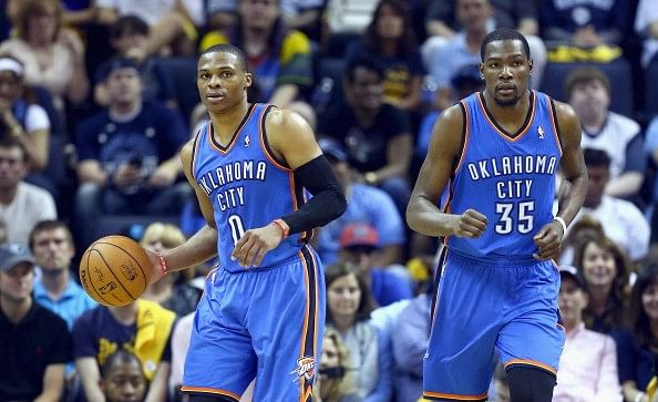 KD and Westbrook combine for 91 points as OKC escape Orlando with win in double OT
