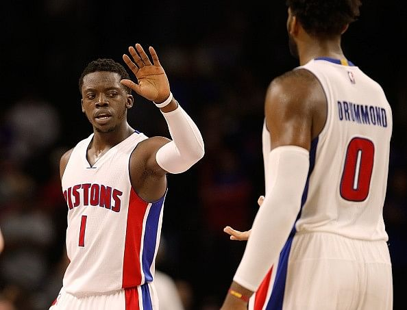 Detroit Pistons' new dynamic duo: Andre Drummond and Reggie Jackson
