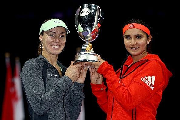 WTA Championship Finals 2015: Mirza-Hingis, Radwanska take title wins