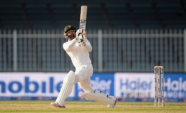 Match evenly poised at end of Day 3; Mohammad Hafeez leads Pakistan fightback