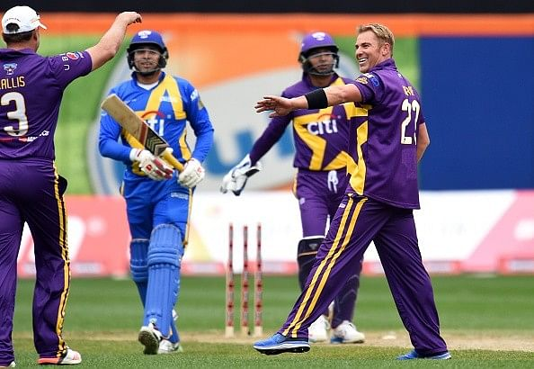 Best pictures from the first Cricket All-Stars T20 match between Warne's Warriors and Sachin's Blasters