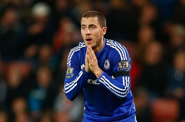 Jose Mourinho explains why he wants Eden Hazard on Chelsea's left flank instead of no.10 role