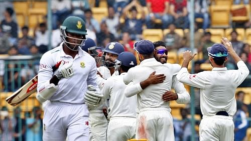 Stats: Nagpur Test, Day 2 - South Africa's lowest total since return while Indian spinners continue their dream series