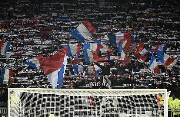 Reports: Away fans banned from attending games in France until mid-December