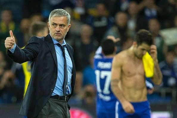 Jose Mourinho denies rumour of bust-up with Diego Costa following win against Maccabi Tel Aviv