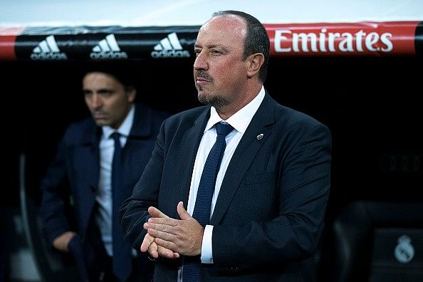 Rafael Benitez receives support from Arsene Wenger,Jose Mourinho, Michel and Luis Enrique