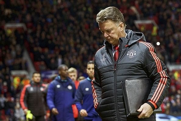 Van Gaal worried about his misfiring strikers and the prospect of early Champions League exit