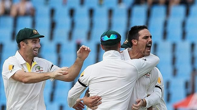 6 times when Mitchell Johnson intimidated the opposition batsmen