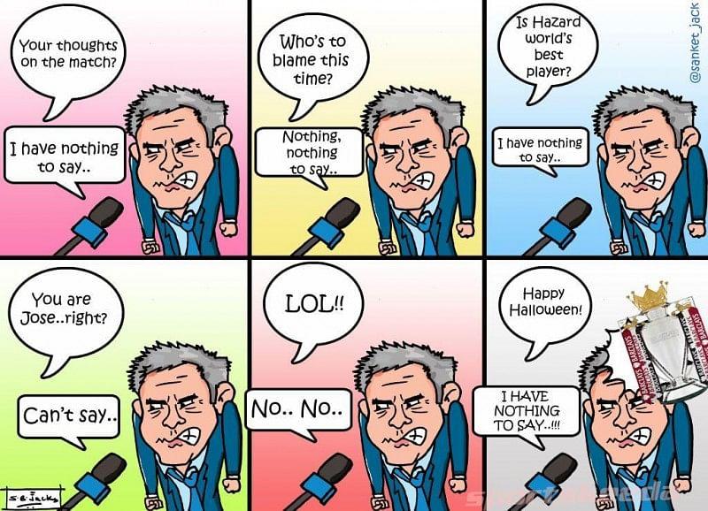 Comic: Jose Mourinho's weird interview!
