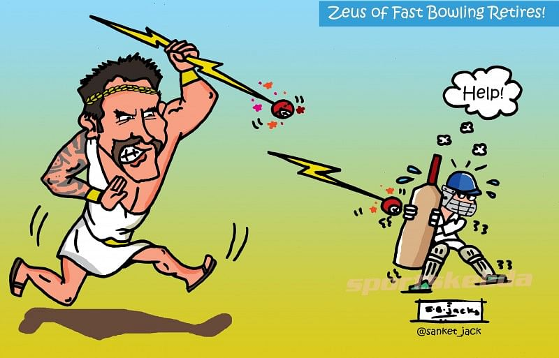 Mitchell Johnson - The Zeus of fast bowling retires