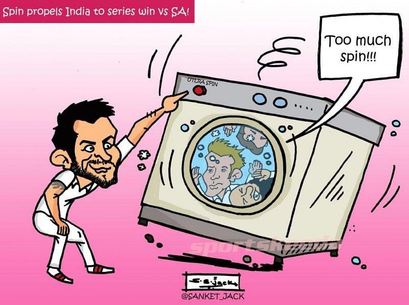 Comic: Spin wash for SA