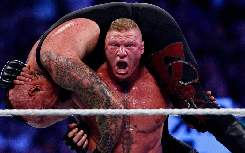 Big update on Brock Lesnar's return to in-ring action, WWE issues an advertisement