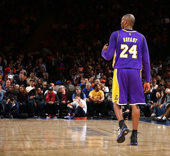 Kobe Bryant - The man who made me fall in love with basketball