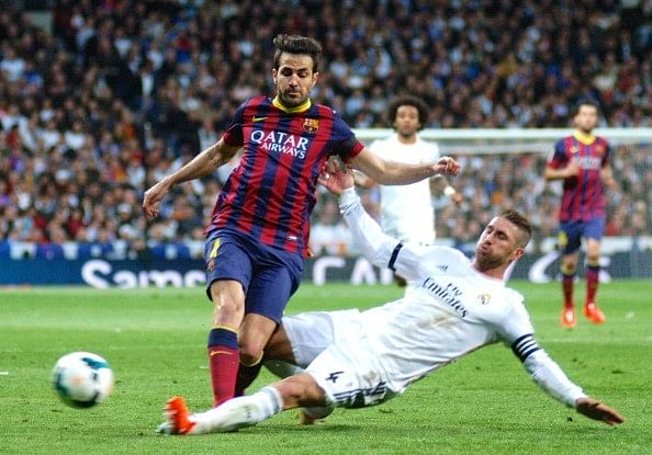 Cesc Fabregas reveals he had discussed terms with Real Madrid over possible move to the Bernabeu