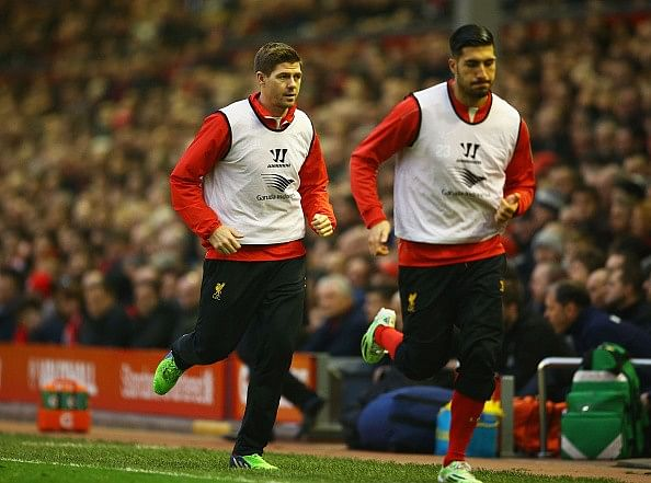 Liverpool's Emre Can says even Lionel Messi could not replace Steven Gerrard at Anfield