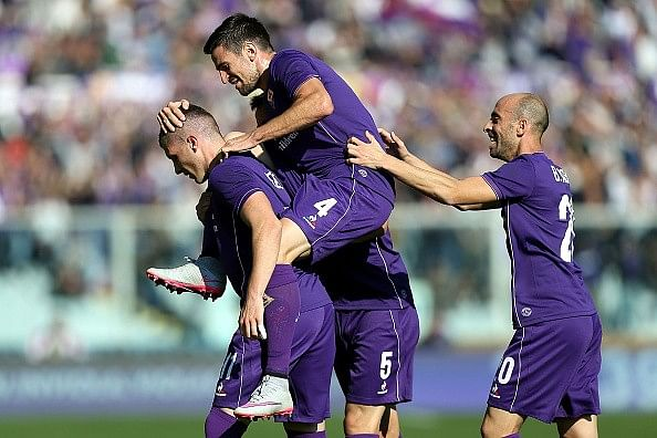 Table toppers Fiorentina are leading Serie A's revival