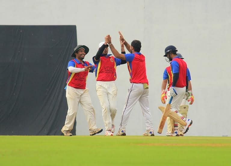 Results from an action packed first weekend at the RCB Corporate Cricket Championship