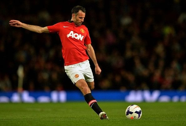 Ryan Giggs picks the best XI he has played with