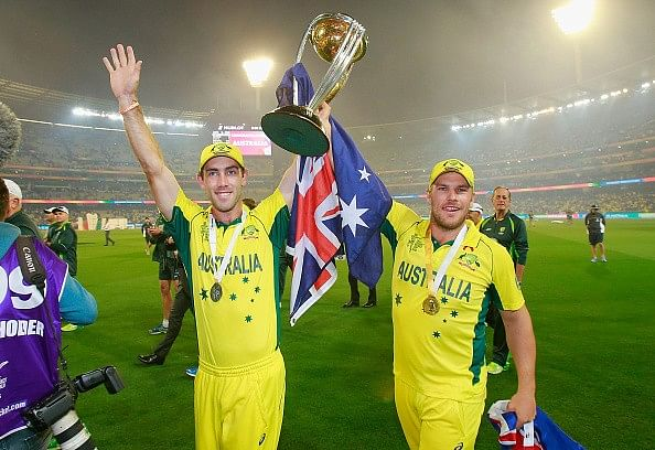 Glenn Maxwell and Aaron Finch involve in Twitter banter