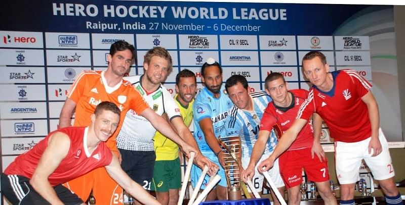 World's top teams set for men's Hero Hockey World League Final in Raipur