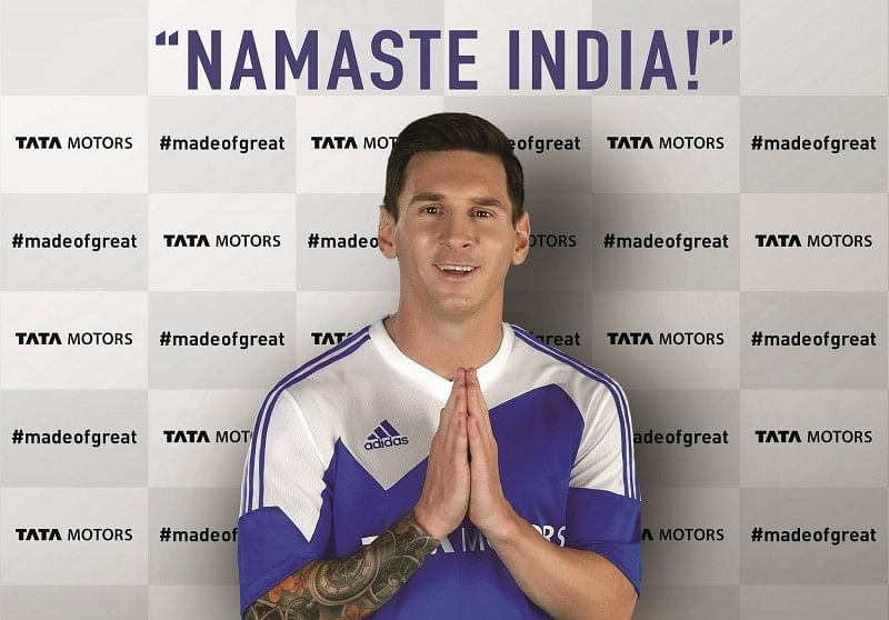 Tata Motors partners with Football Legend - Lionel Messi as the global brand ambassador for its Passenger Vehicles