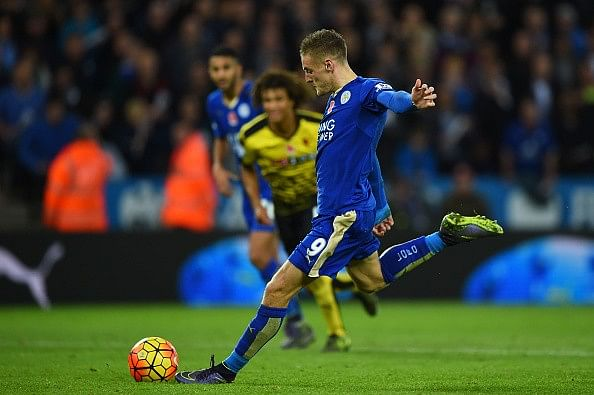 Stats: Jamie Vardy moves one step closer to setting Premier League record