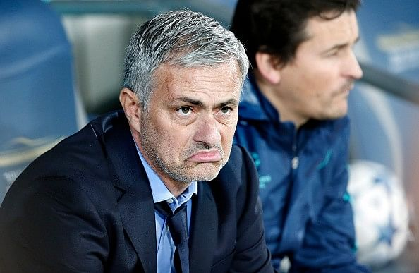 Jose Mourinho wants Olympiacos to progress at Arsenal's expense in Champions League
