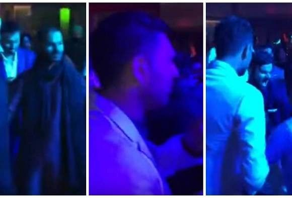 Video: Dhawan, Kohli, Yuvraj and other cricketers dancing at Harbhajan Singh's wedding reception