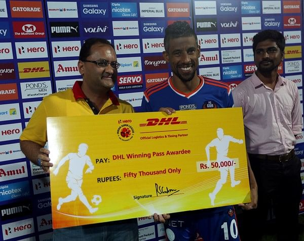 Leo Moura defies age and convention by clinching the DHL Winning Pass award for FC Goa