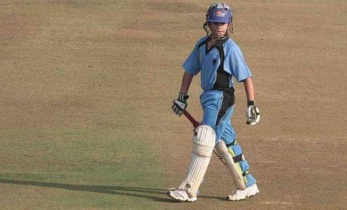 Arjun Tendulkar smashes century in U-16 tournament in Mumbai
