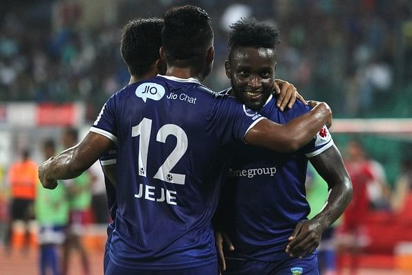 ISL 2015: Chennaiyin FC beat Delhi Dynamos 4-0 to move up to fourth in the table