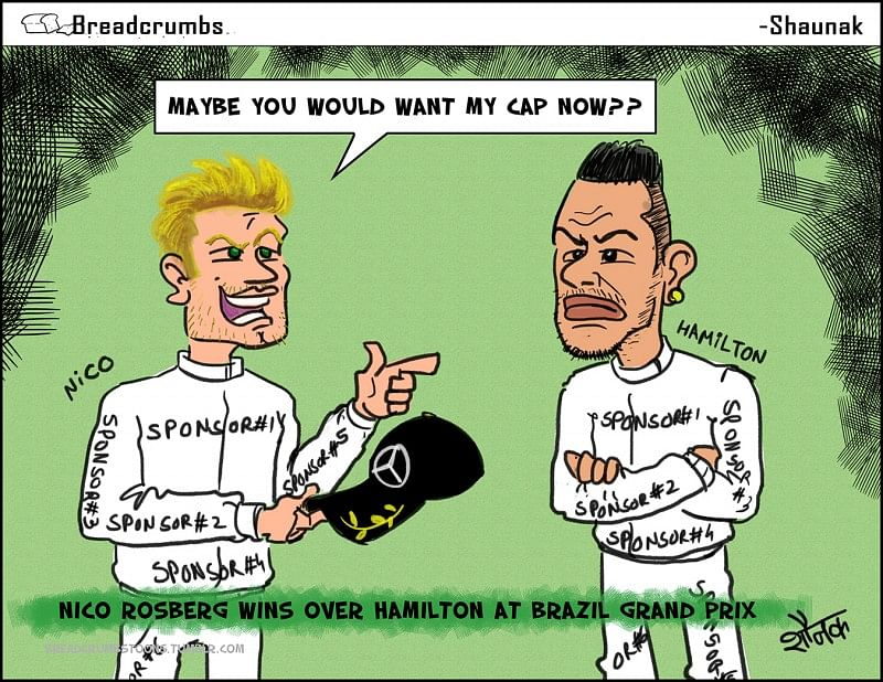 Capgate: Nico Rosberg vs Lewis Hamilton
