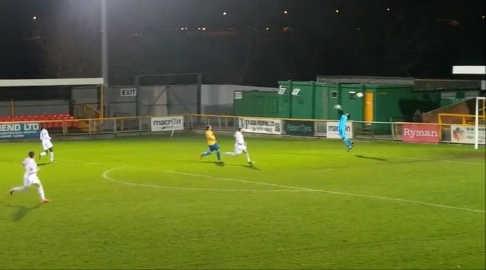 Video: Gust of wind assists most bizarre own goal ever recorded