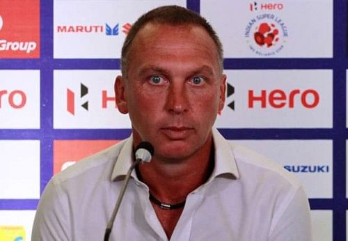 Iain Hume's first goal was an offside: FC Pune City manager David Platt