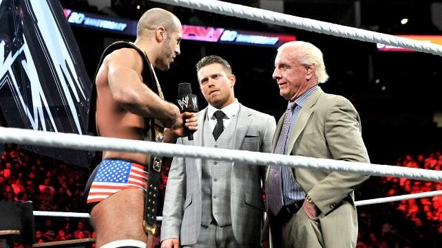 Ric Flair talks being Cesaro's mouthpiece, his favourite WWE stars currently, Bray Wyatt and more