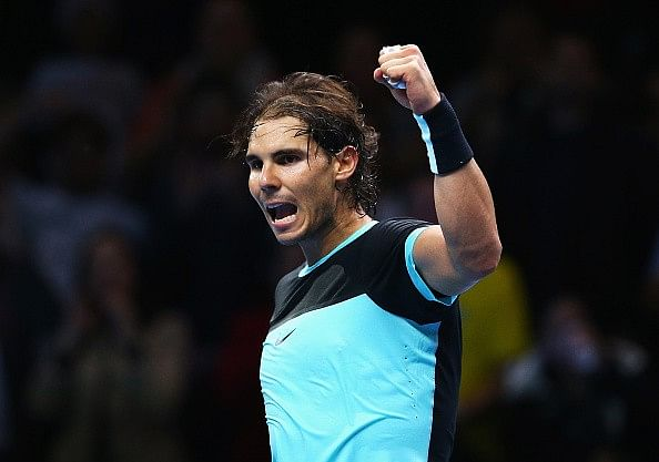 Video: Watch Rafael Nadal's stunning lob against Stan Wawrinka