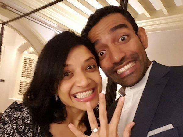 Robin Uthappa gets engaged to long time girlfriend Sheethal Gautam