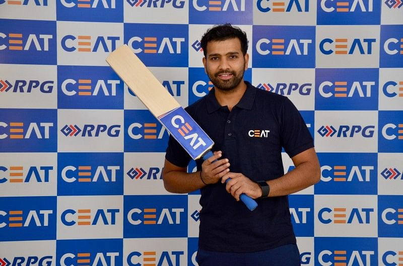 CEAT inks 3-year bat endorsement deal with Rohit Sharma