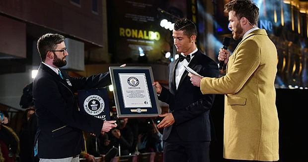 Cristiano Ronaldo now holds Guinness World Record for 'Most Liked person on Facebook'