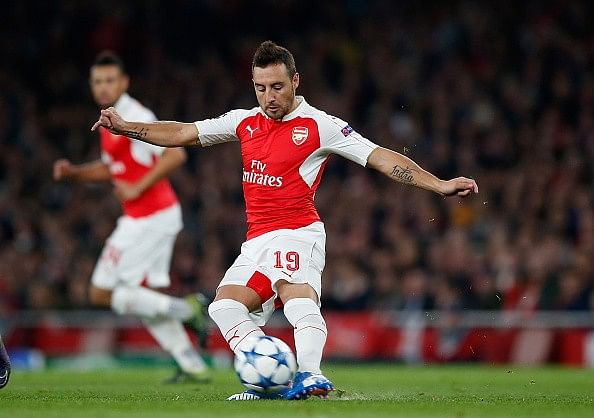 Stats: Santi Cazorla becomes first player to complete 1000 passes in the Premier League this season