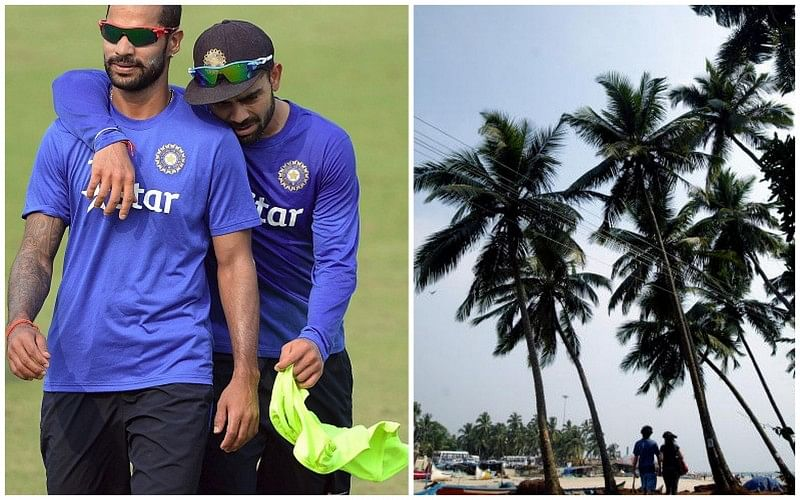 Virat Kohli and Shikhar Dhawan take their partners for a trip to Goa