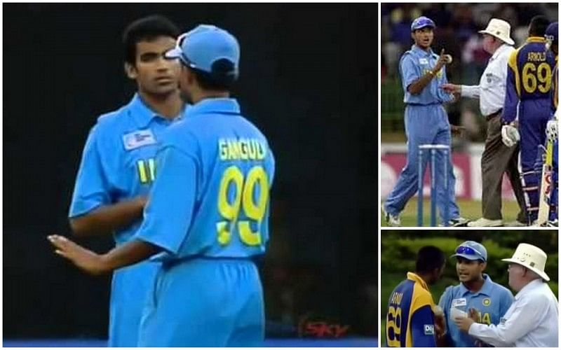 5 times when Sourav Ganguly bullied the opposition