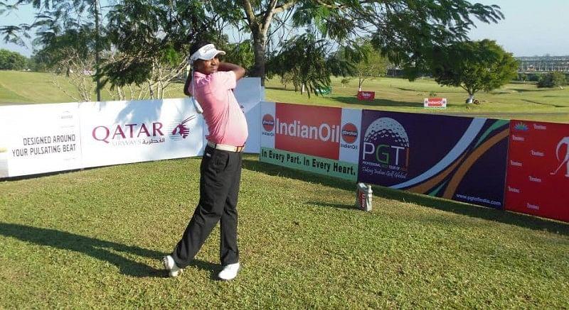 IndianOil Servo Masters Golf 2015: Shankar Das and Gaurav Pratap Singh are joint round three leaders